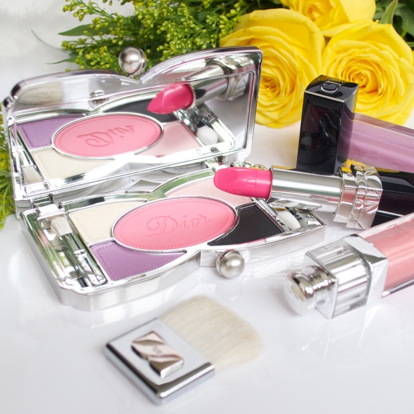 Dior Spring Trianon collection lipsticks palette lipgloss