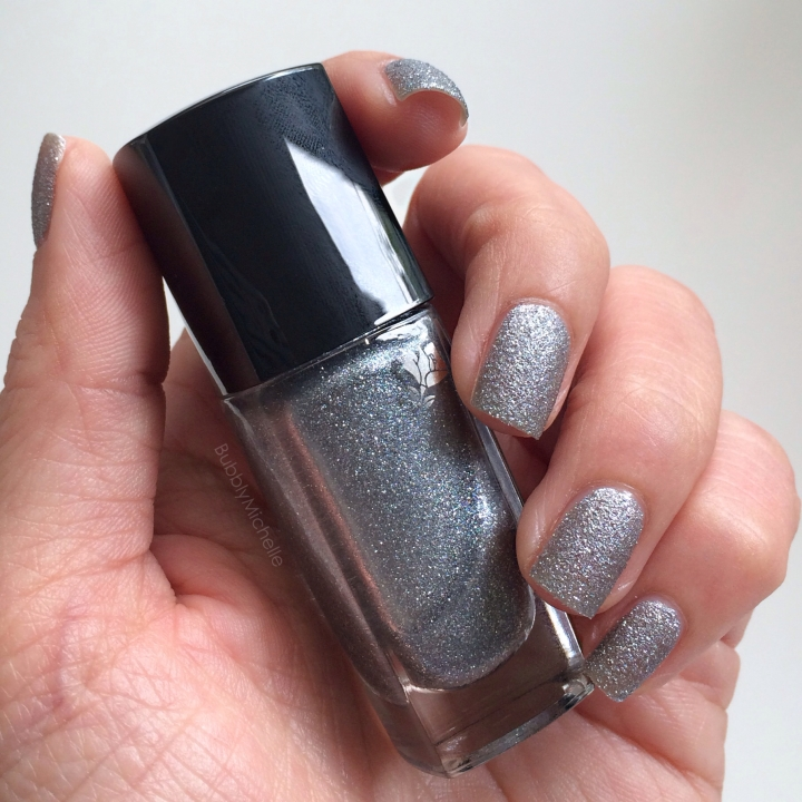 Silver nail polish lancome holiday 2013