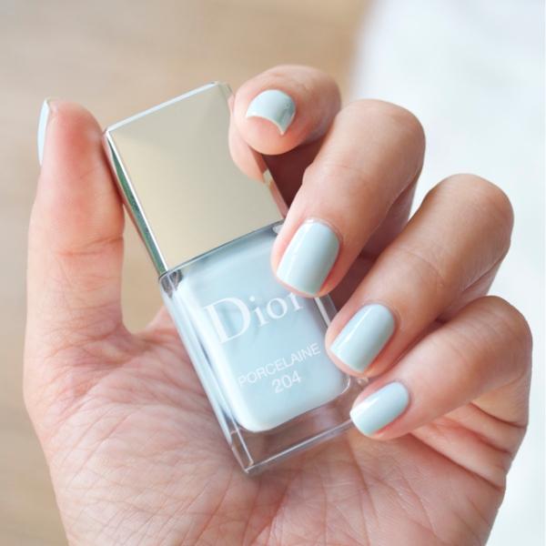 Dior Spring 2014 Nail lacquer porcelain