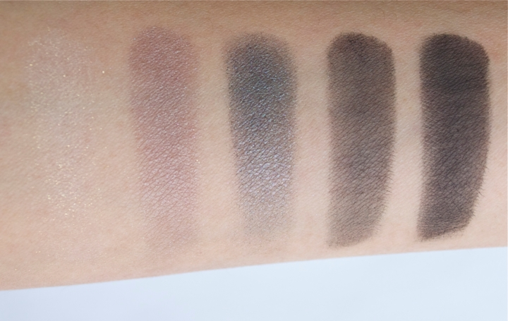 Narsissist eyeshadow palette swatches row 3