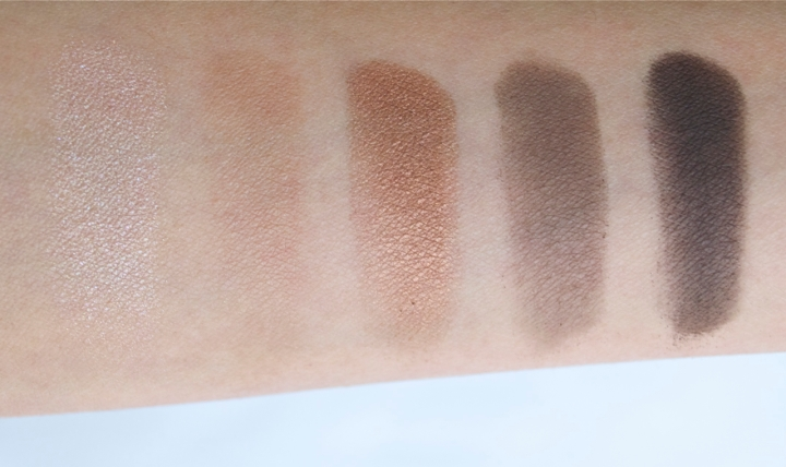 Narsissist eyeshadow palette row 2 swatches