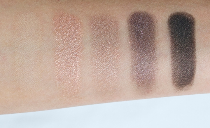 Narsissist eyeshadow palette swatches row 2