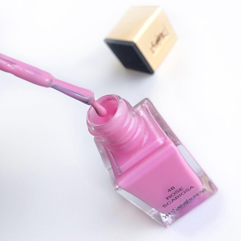 YSL Spring 2014 nail polish Rose Scabiosa
