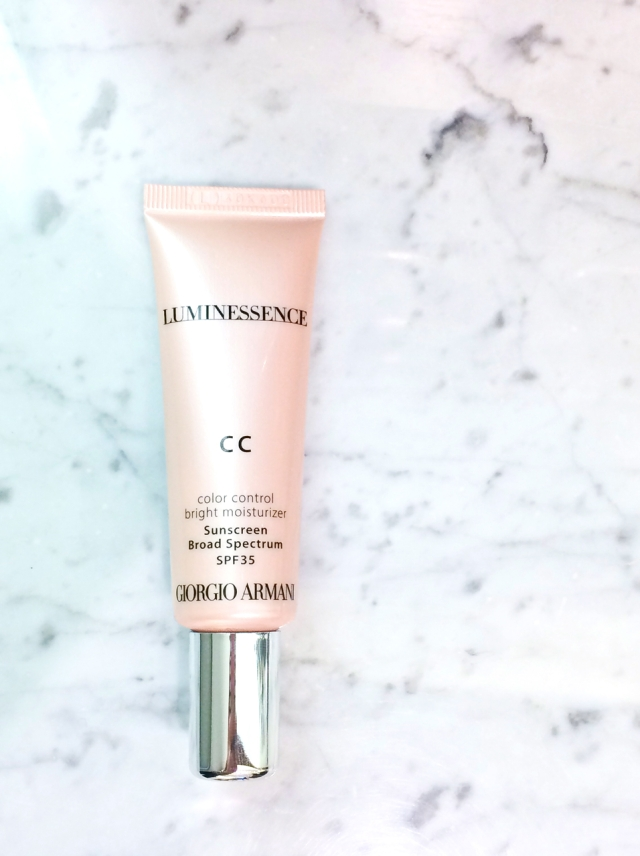 Armani luminessence CC cream tube