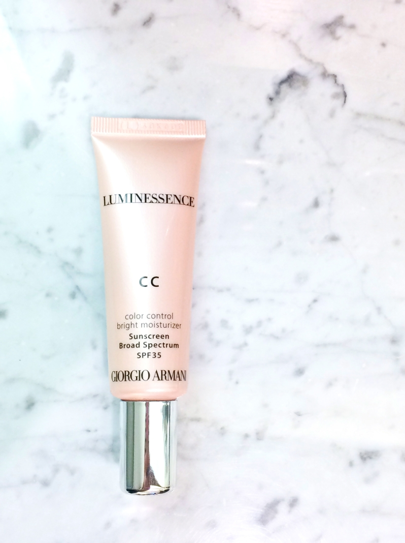 Armani luminessence CC cream tube