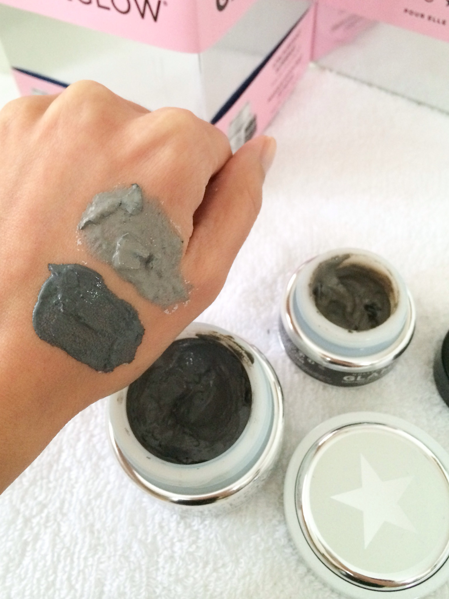 Black Gold! – GLAMGLOW Supermud and Youthmud – Bubbly Michelle