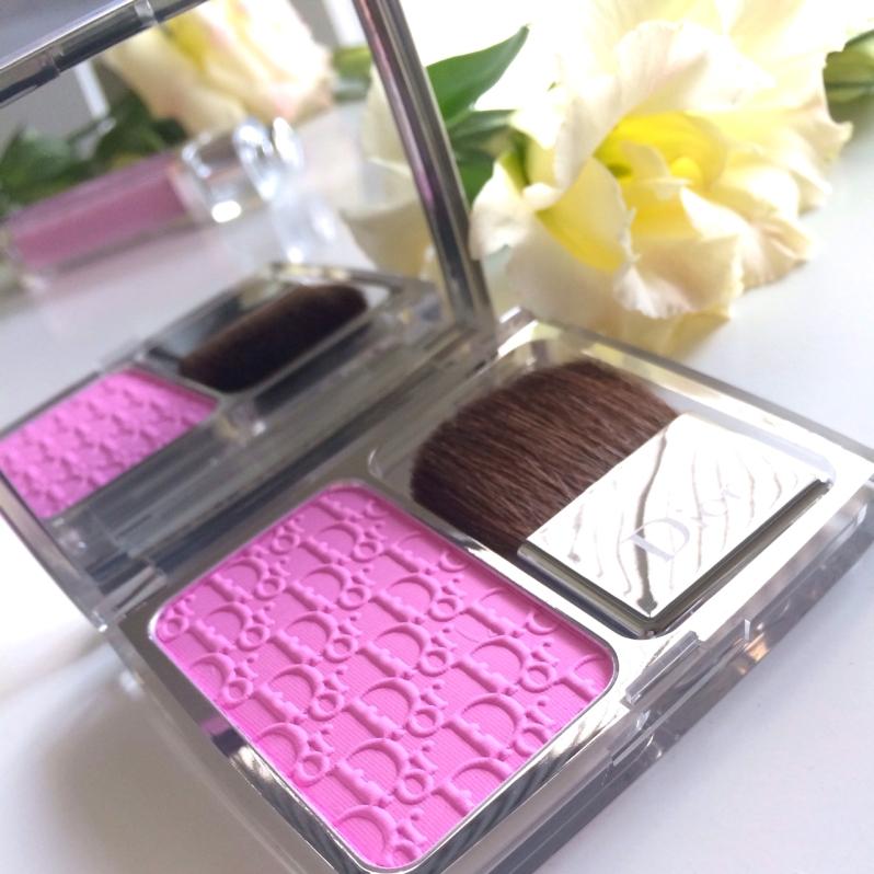 Dior Rosy glow blush pink fuchsia backstage