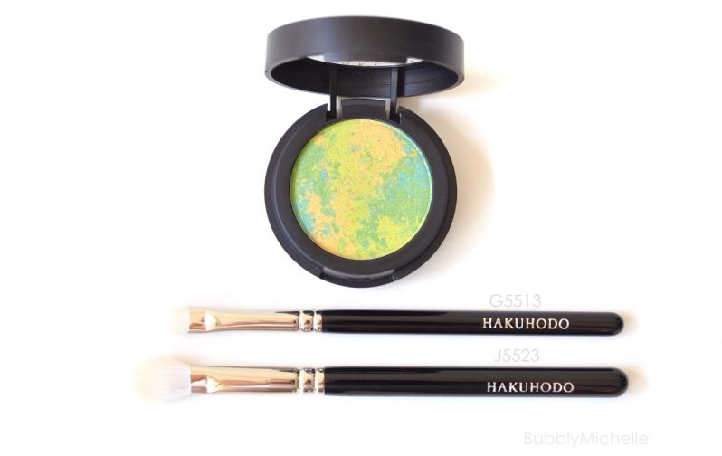 Eyeshadow brush Hakuhodo J5523 G5513