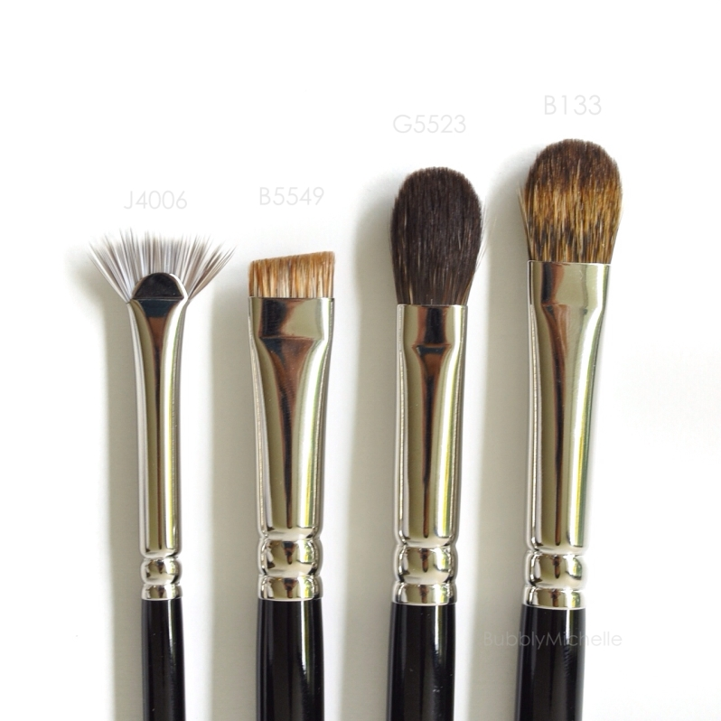 eyeshadow brow brushes hakuhodo