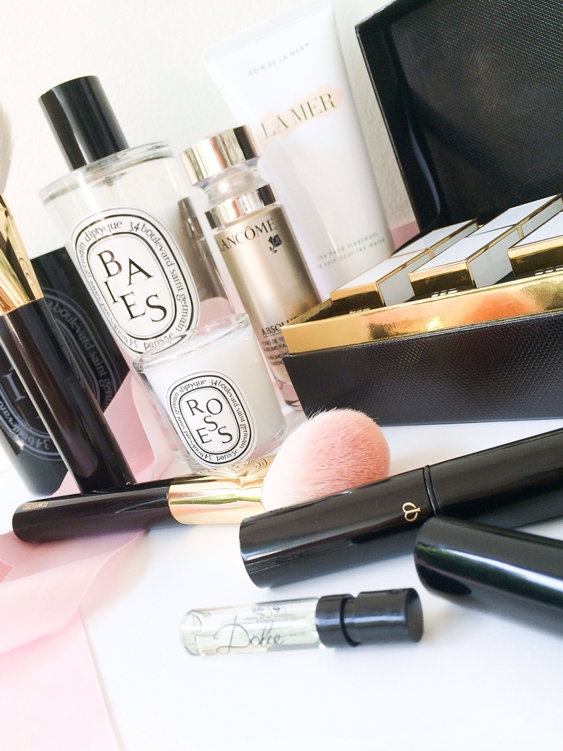 Cle de peau Tom Ford lipsticks Diptyque