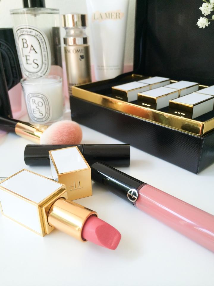 Favourites Tom Ford lipstick Giorgio Armani beauty Flash Lacquer