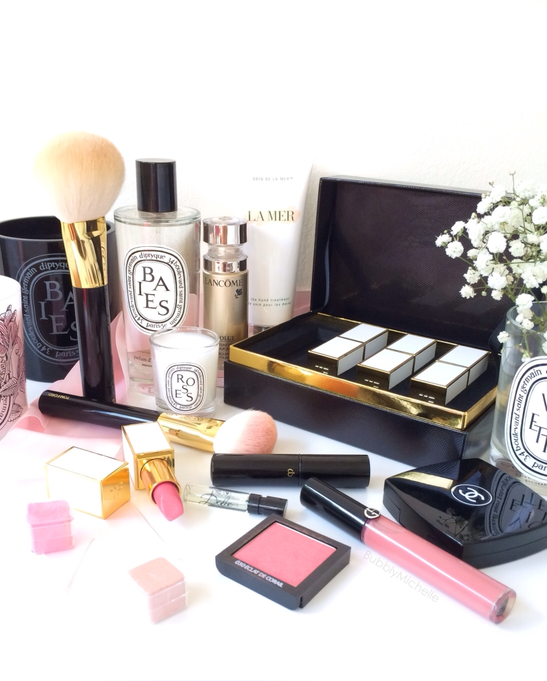 Beauty and skincare favourites Lamer Diptyque Chanel Tom Ford