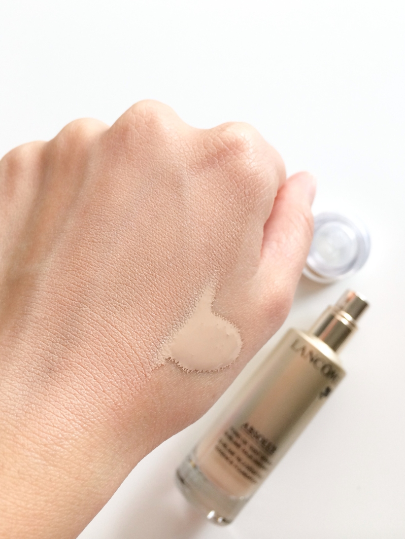 Lancome Absolue foundation swatch