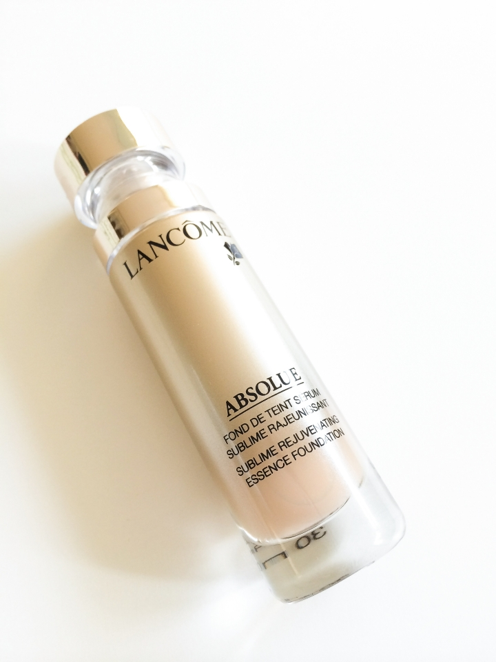 Lancome Absolue foundation bottle