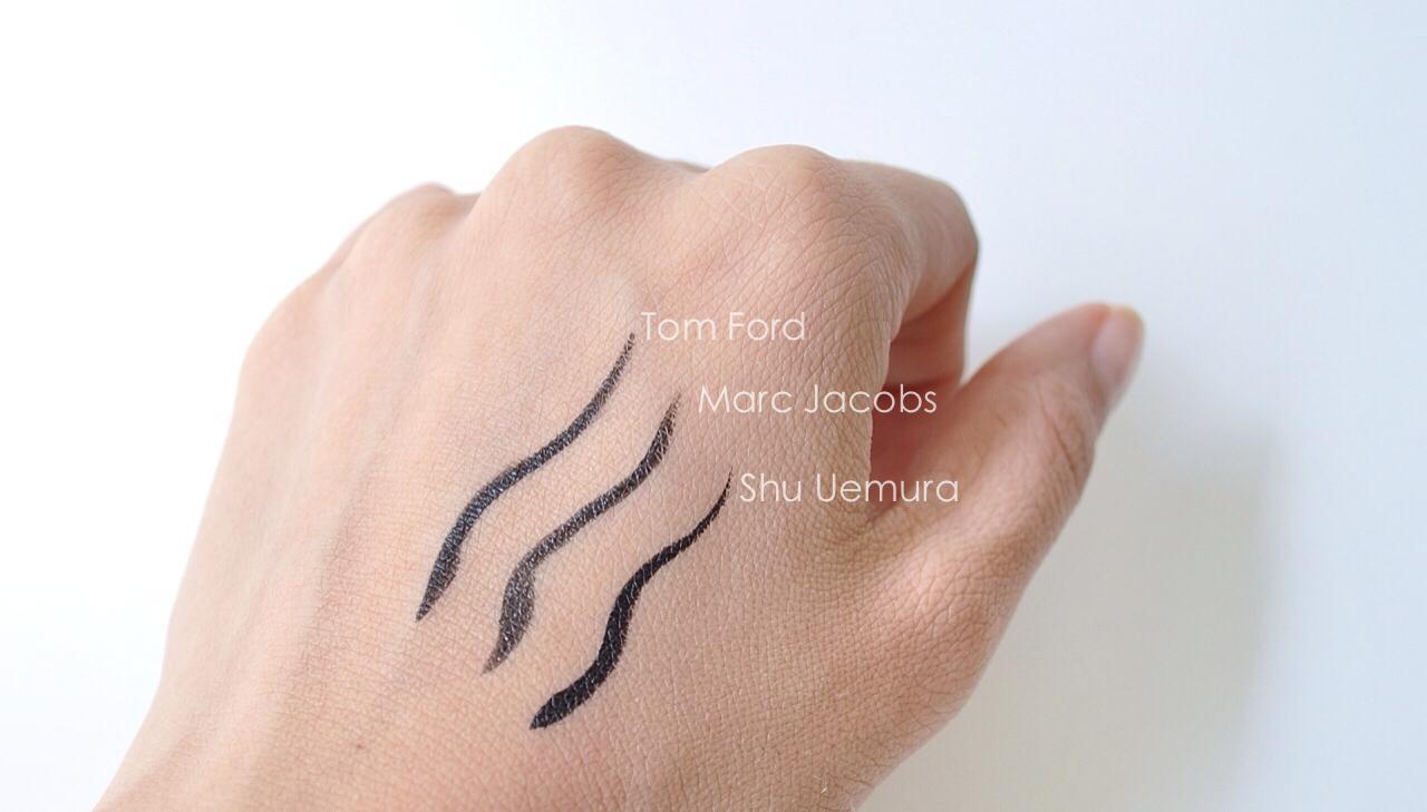 La Girl Line Art Matte Eyeliner Review : The art of lining shu uemura calligraph ink liquid liner u bubbly