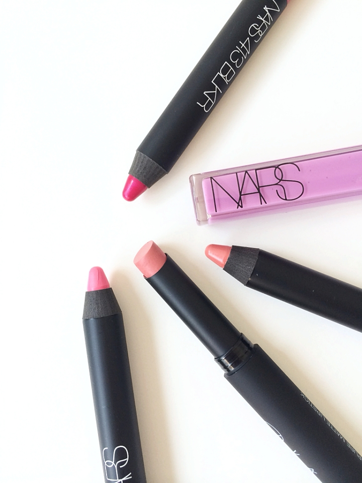 Nars Satin Lip Pencils Swatches