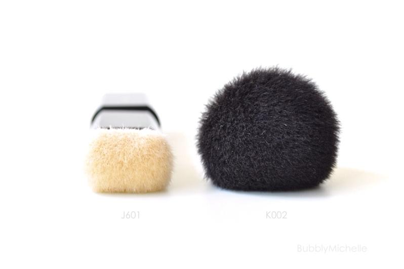 Powder brushes K002 J601