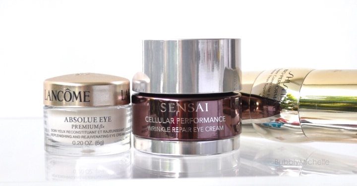 eye cream sensai lancome shiseido