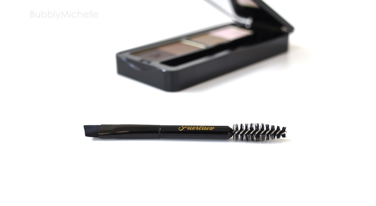 eyebrow powder brush. guerlain universal eyebrow kit brush powder s