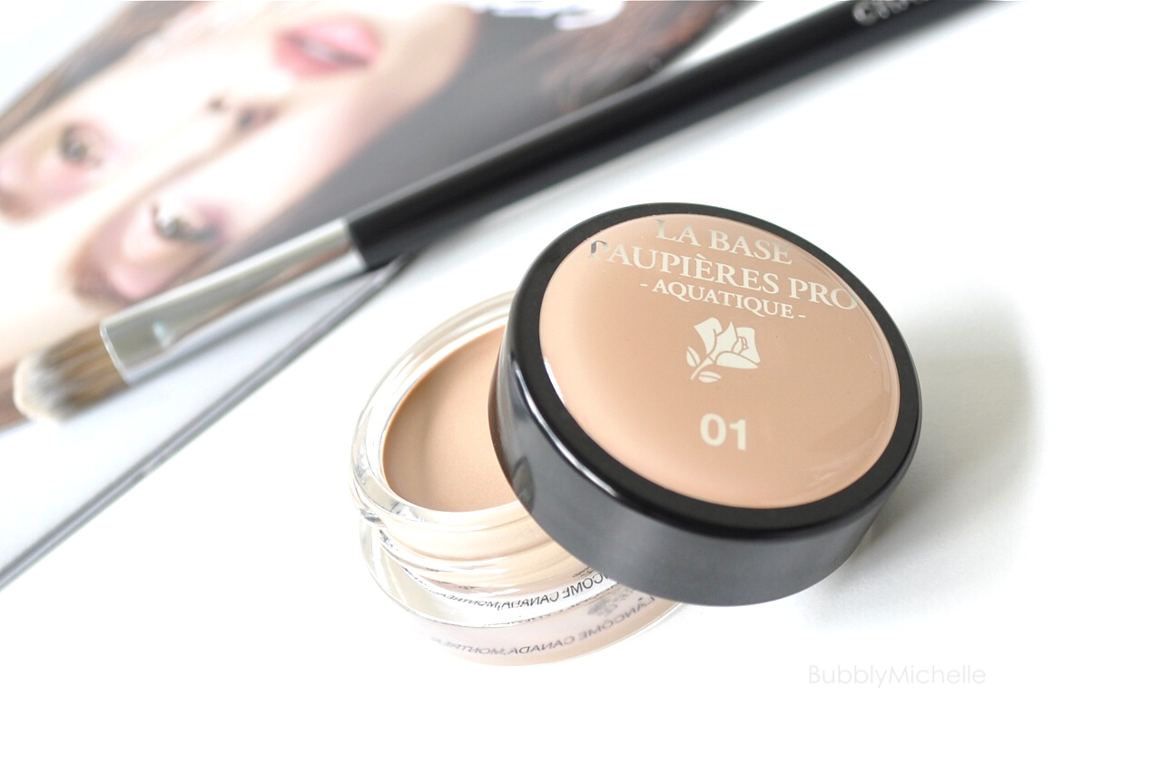 0aa8cc5d989 Lancôme La Base Paupières Pro [long wearing eyeshadow base] ; review ...