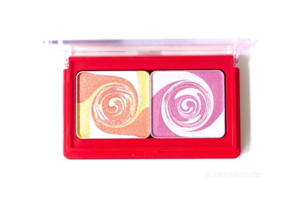 Mika for Shu spiral duo orange pink