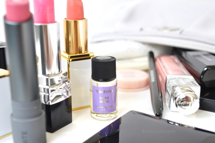 whats in my makeup bag perfume