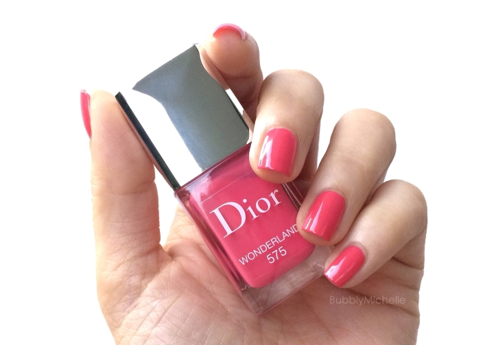 Dior wonderland nail polish swatch