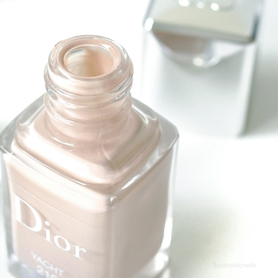 Dior Yacht nail polish Summer Transat