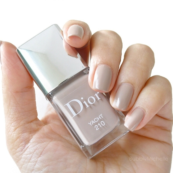Dior Yacht nailpolish swatch review