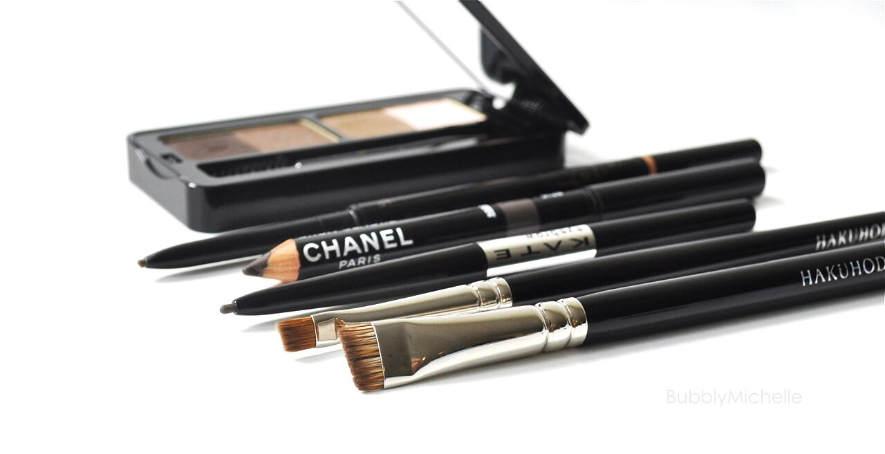 A Brow Pencil Comparison Review And Swatches Bubbly Michelle