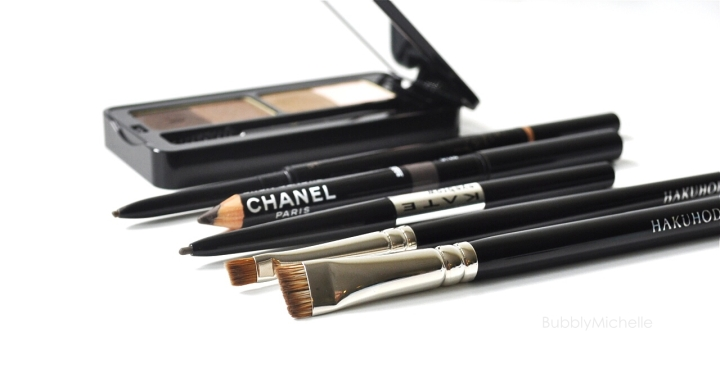 Borw pencils Chanel Tom ford Anastasia Kate cosmetics