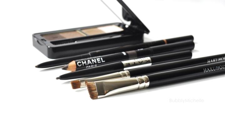 Borw pencils Chanel Tom ford Anastasia Kate cosmetics