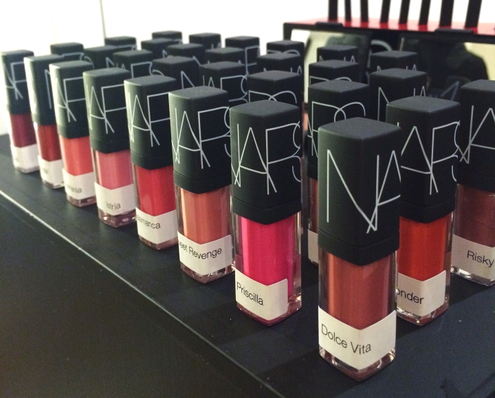 Nars glosses for blog