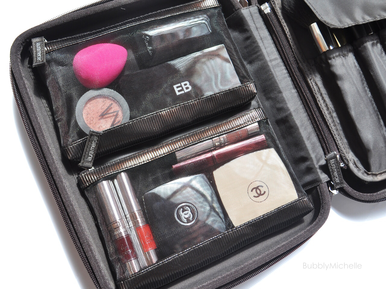 Packing A Travel Makeup Bag Bubbly Michelle
