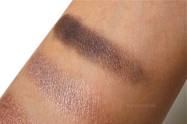 cle de peau eyeshadow swatches
