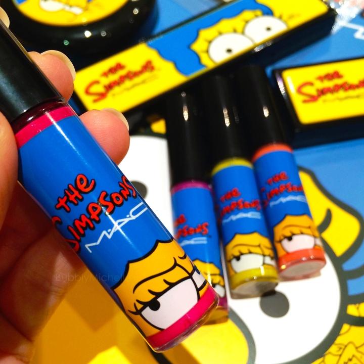 Mac Marge Simpson lipglass
