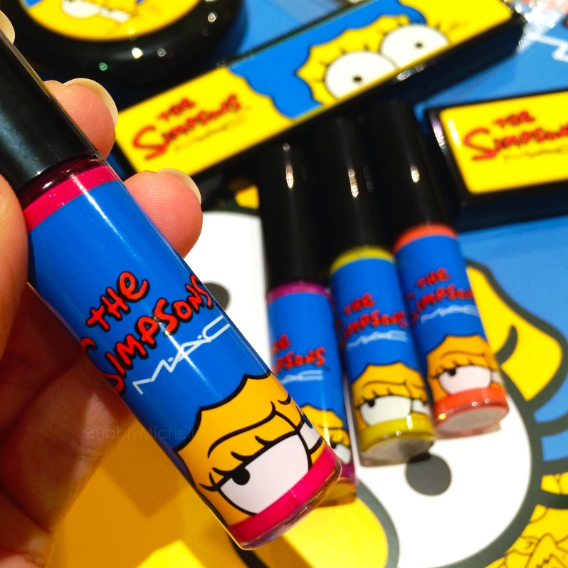 Mac Marge Simpson lipglass