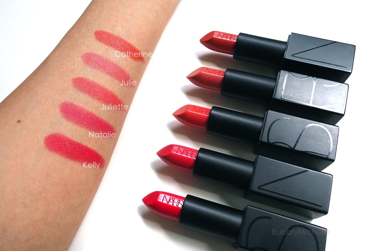Nars Audacious Lipstick Bubbly Michelle