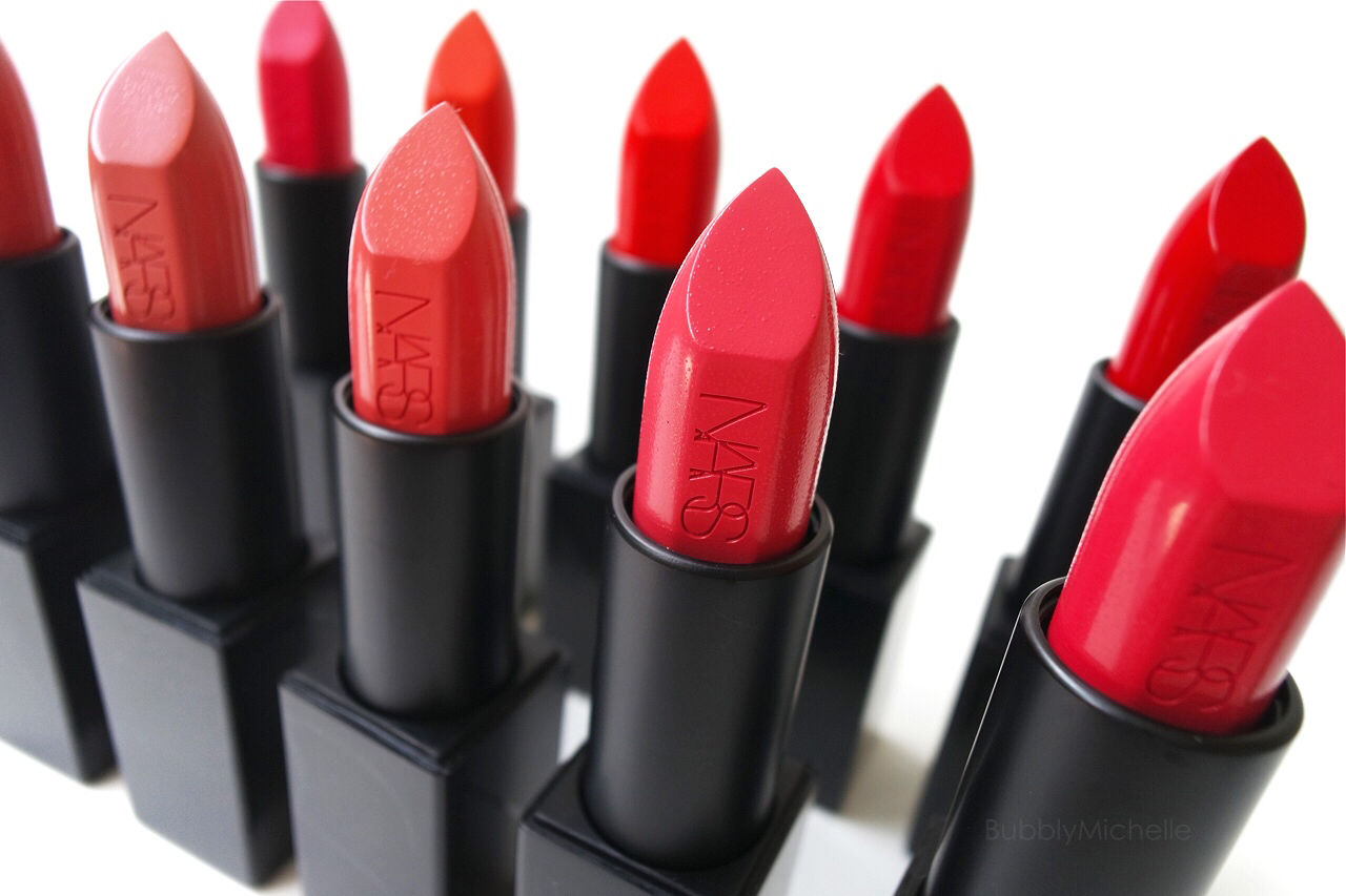 NARS Audacious lipstick swatches PART 2 – Bubbly Michelle