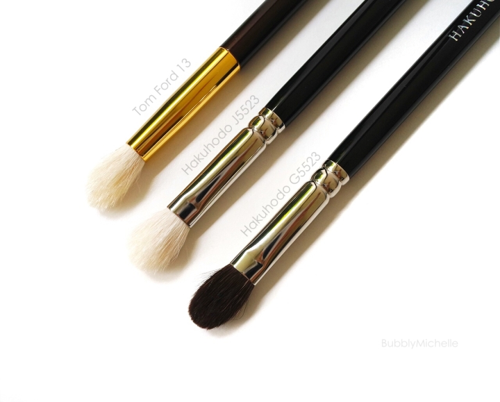 Hakuhodo, tomford blender brush