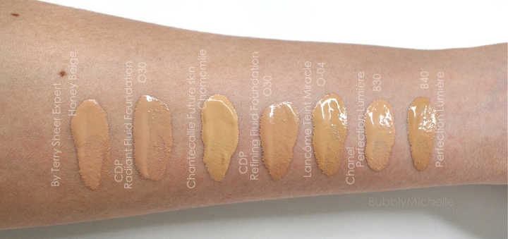 Cle de peau radiant fluide foundation