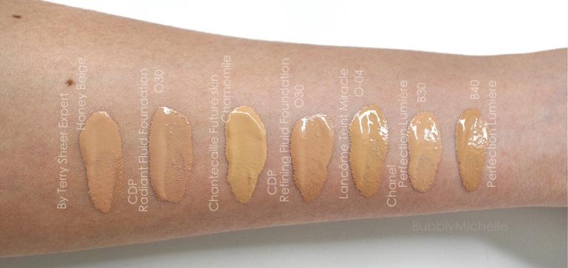 Cle de peau radiant fluide foundation