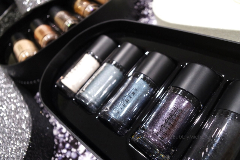 MAC Holiday 2014 Silver pigments