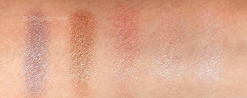 MAC Brooke shields mortal swatches