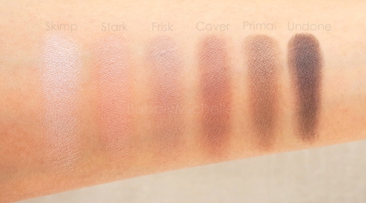 Urban Decay Naked Basics 2 swatches