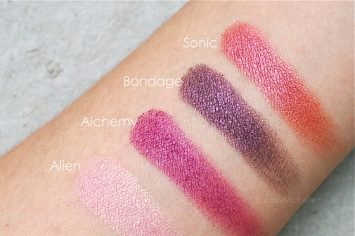 Urban decay vice 3 swatches