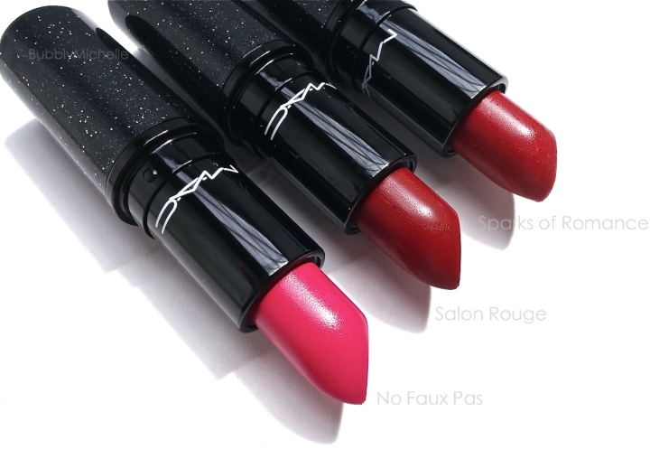 MAC Holiday 2014 lipsticks heirloom mix