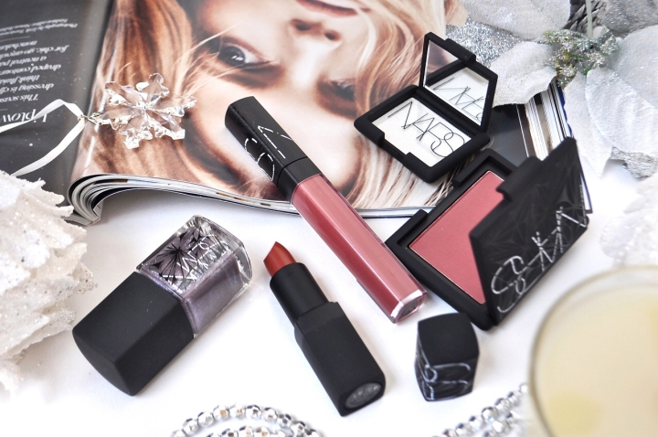 NARS Laced with Edge Holiday colour collection : Photos, Swatches & a suggested look
