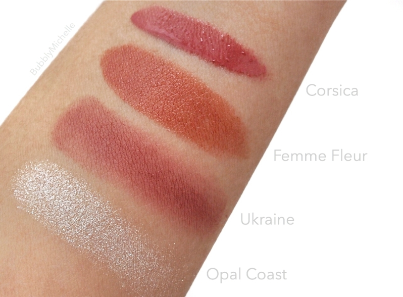 NARS Holiday 2014 swatches