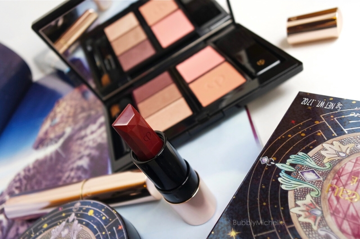 Cle de peau beaute review holiday palette 2014